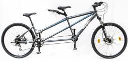 Csepel Tandem 200 teleszkópos szürke tandem kerékpár 2020