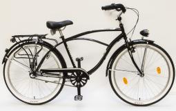 Csepel Cruiser Neo N3 agyváltós fekete cruiser kerékpár 2020