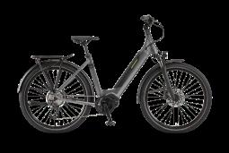Winora Sinus iX10 monotube szürke túratrekking e-bike 2020