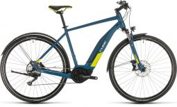 Cube Cross Hybrid EXC 500 Allroad kék cross trekking e-bike 2020