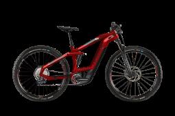 Haibike SDURO Fullnine 8.0 piros MTB Fully 29