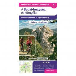 Frigoria Budai-hegység és környéke kerékpáros térkép 2017