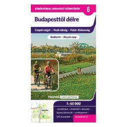 Frigoria Budapesttől délre kerékpáros térkép 2017