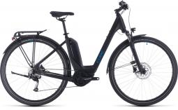 Cube Touring Hybrid One 400 fekete city/túratrekking e-bike 2020