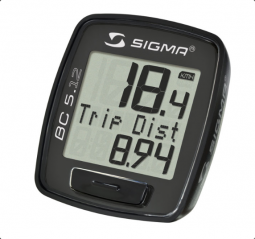 Sigma BC 5.12 kerékpár computer 2018