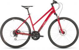 Cube Nature piros női cross trekking kerékpár 2020