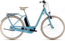 Cube Ella Cruise Hybrid 400 kék női city e-bike 2020