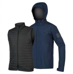 Endura Urban 3 in 1 Waterproof Jacket esőkabát szett 2018