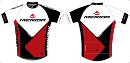 Merida Team Replica rövid ujjú mez 2018