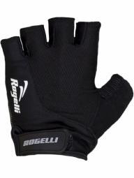Rogelli Strada fekete rövid ujjas kesztyű 2018