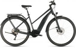 Cube Touring Hybrid Pro 500 sötétszürke női túratrekking e-bike 2020