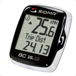 Sigma BC 16.12 vezetékes kerékpár computer 2018