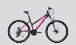 CTM Suzzy 2.0 fekete-pink női MTB 26