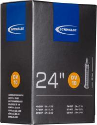 Schwalbe DV10 24X1,50-2,40 165G 40 mm Dunlop szelepes belső gumi 2020