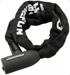 Bikefun Rock 10x10x1200 mm fekete láncos kerékpár zár 2019