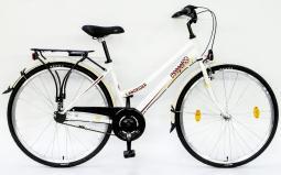 Csepel Landrider 28 N3 női fehér túratrekking kerékpár 2020