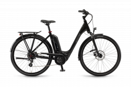 Winora Sinus Tria 7eco fekete monotube túratrekking e-bike    2020