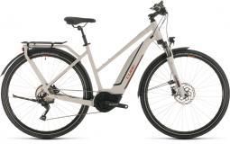 Cube Touring Hybrid Pro 500 szürke női túratrekking e-bike 2020