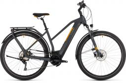 Cube Kathmandu Hybrid Pro 500 szürke-narancs női túratrekking e-bike 2020