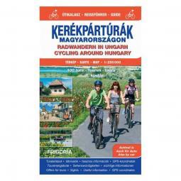 Frigoria Kerékpártúrák Magyarországon atlasz útikalauzzal 2019