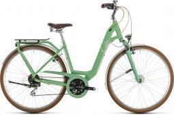 Cube Ella Ride zöld női városi kerékpár 2020