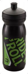 Bikefun 600 ml fekete-zöld kulacs 2018