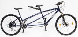 Csepel Tandem 200 teleszkópos kék tandem kerékpár 2020