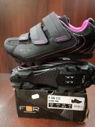 FLR F-55 női kerékpáros cipő 2016