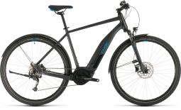 Cube Cross Hybrid One 400 Allroad sötétszürke cross trekking e-bike 2020