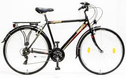 Csepel Landrider 28 21SP férfi fekete túratrekking kerékpár 2020