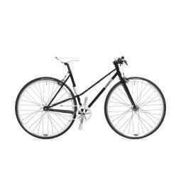 Csepel Royal 3* Lady női fekete fixi kerékpár 2020