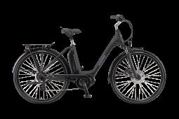 Winora Sima 7 fekete túratrekking e-bike 2020