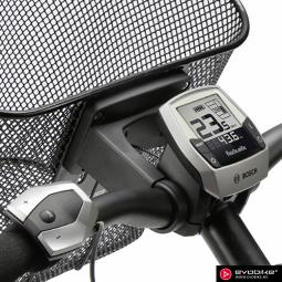 Klickfix Fix kosárrögzítő adapter elektromos kerékpárokhoz (csak adapter!) 2019
