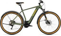 Cube Cross Hybrid Pro 500 Allroad zöld cross trekking e-bike 2020