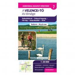 Frigoria Velentei-tó és térsége kerékpáros térkép 2017