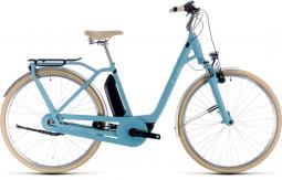Cube Ella Cruise Hybrid 500 kék női city e-bike 2020