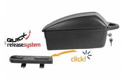 Polisport Tgíereop Box csomagtartó doboz csomagtartóra gyorskioldós rendszerrel 2020