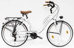 Csepel Cruiser Neo 7SP fehér női cruiser kerékpár 2020