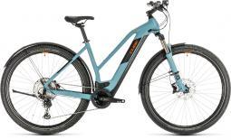 Cube Cross Hybrid Race 625 Allroad kék női cross trekking e-bike 2020