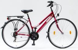 Csepel Landrider 28 21SP női piros túratrekking kerékpár 2020