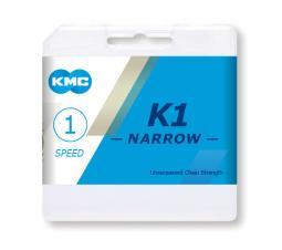 KMC K1-narrow BMX single 1/2 x 3/32 116L (K810) 1 sebességes kerékpár lánc 2020