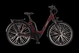 Winora Sinus Tria N7f eco monotube bordó túratrekking e-bike 2020