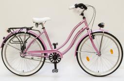 Csepel Cruiser Neo N3 rózsaszín női cruiser kerékpár 2020
