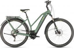 Cube Kathmandu Hybrid EXC 625 zöld női túratrekking e-bike 2020