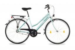 Csepel Landrider 28 N3 női zöld túratrekking kerékpár 2020