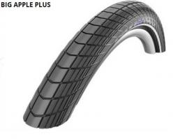 Schwalbe 26X2.15 Big Apple Plus Perf HS430 Greeng End Ref TW 1000 g 26 coll MTB külső gumi 2020