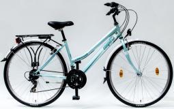 Csepel Landrider 28 21SP női zöld túratrekking kerékpár 2020