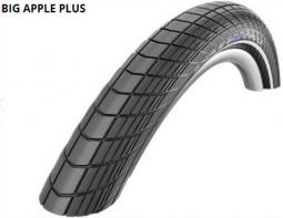 Schwalbe 28x2.00 Big Apple Plus Perf HS430 Greeng End Ref TW 1100 g 29 coll MTB külső gumi 2020