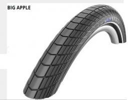 Schwalbe 28x2.35 Big Apple Perf HS430 RG End Ref LS 890 g 29 coll MTB külső gumi 2020