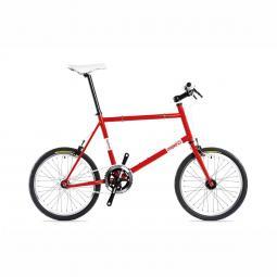 Csepel Royal Frisco 14 piros fixi kerékpár 2020